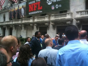 James Brown by New York Stock Exchange